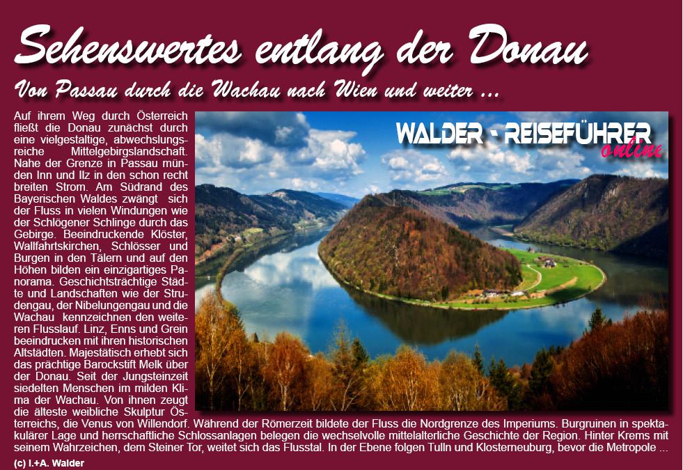 - A Donau Passau - Wien *** - online Reiseführer