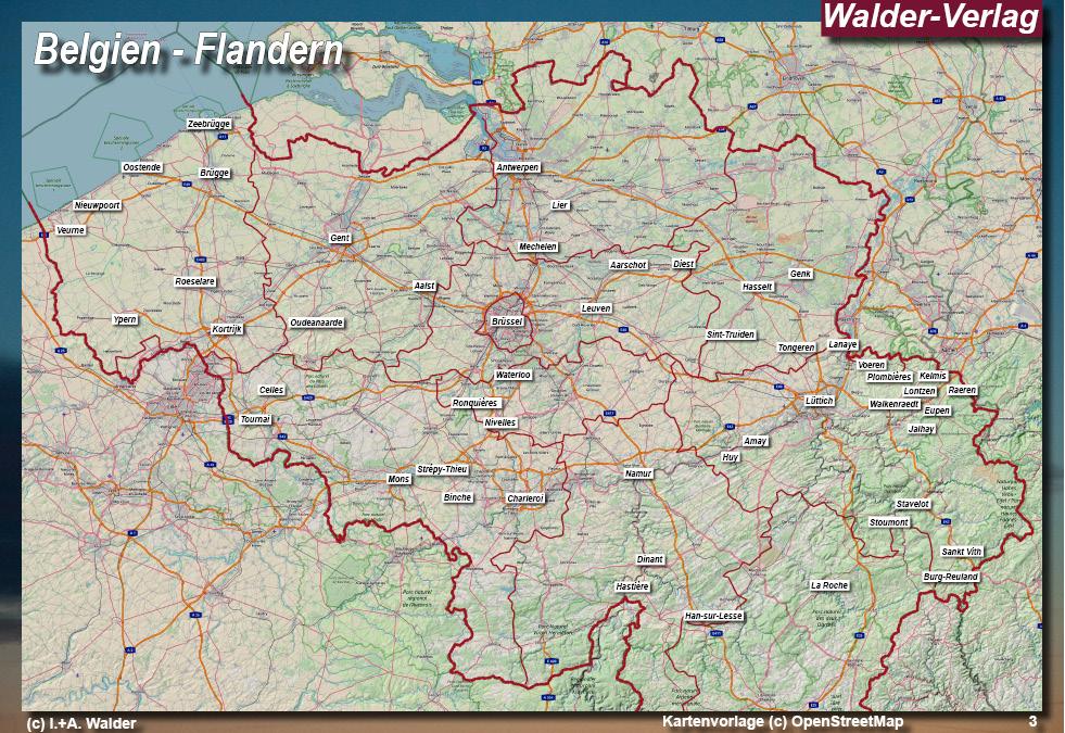 Belgien Wallonie Reisefuhrer