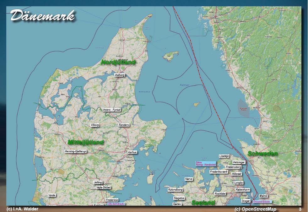 Dänemark Nordseeküste Karte.Dänemark Jütland Reiseführer