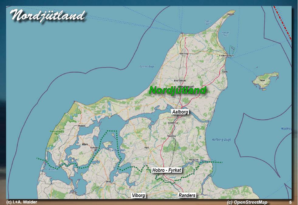 Dänemark Nordsee Karte.Dänemark Jütland Reiseführer