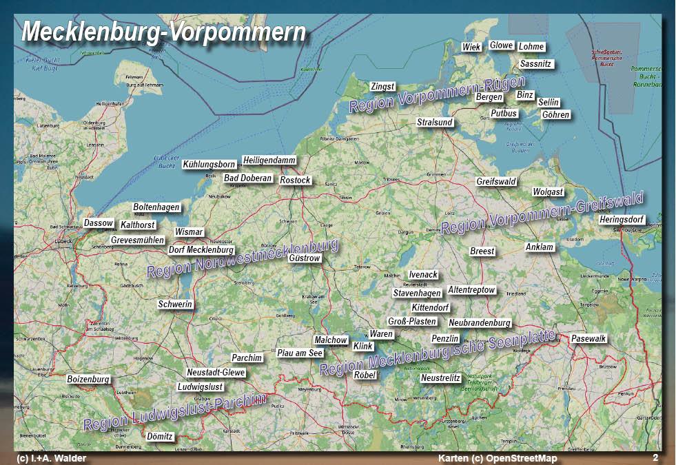 Mecklenburgische Seenplatte Karte Pdf.Mecklenburg Vorpommern Reiseführer