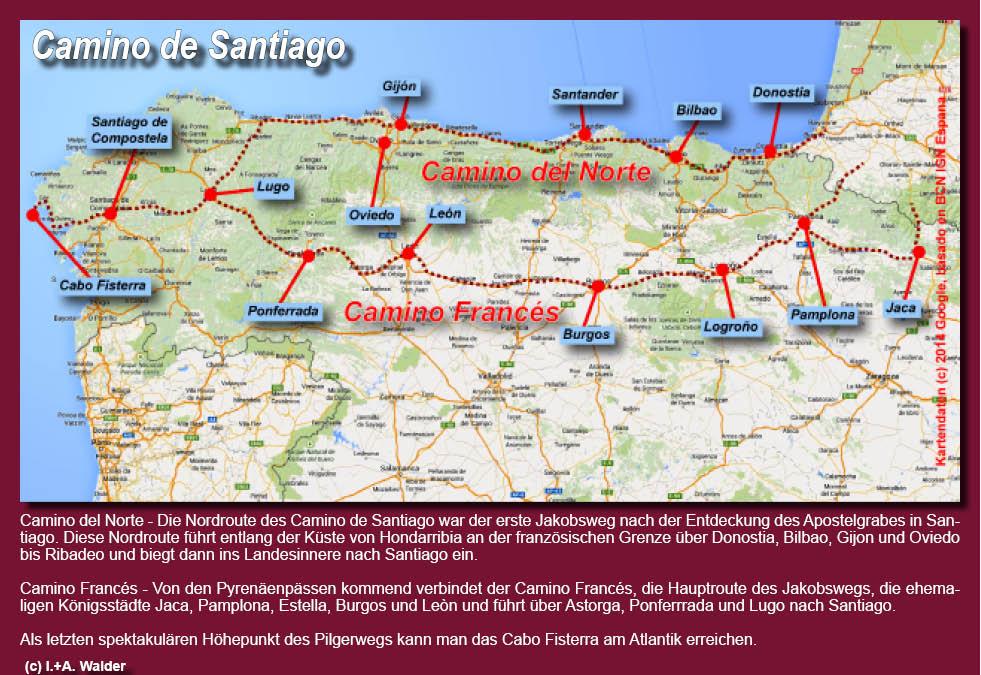 Camino Frances*** Jakobsweg Reiseführer on