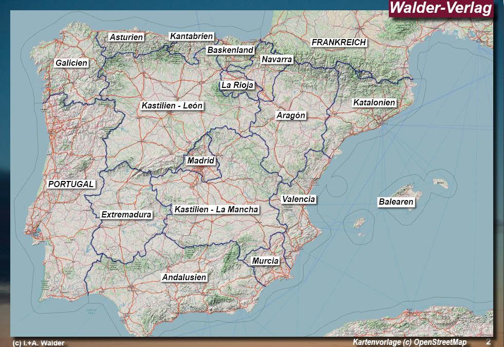 Spanien Katalonien Karte.Katalonien Reiseführer