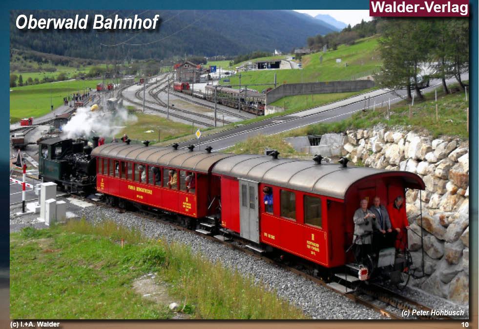 - Dampfbahn-Furka-Bergstrecke*** Reiseführer