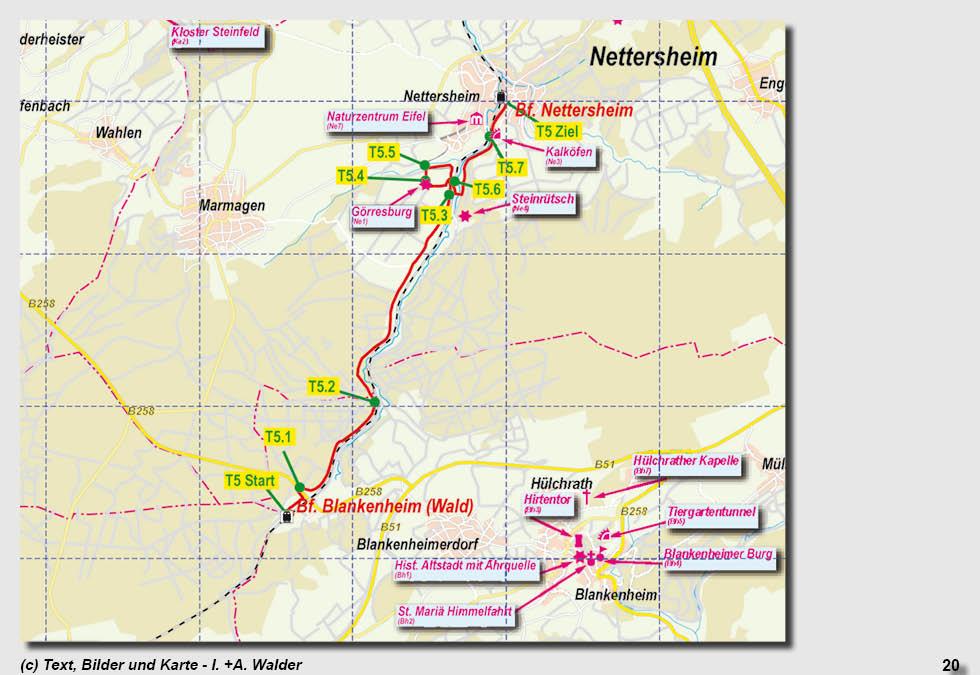 Eifel Karte Pdf.Nordeifel Wandern Reiseführer