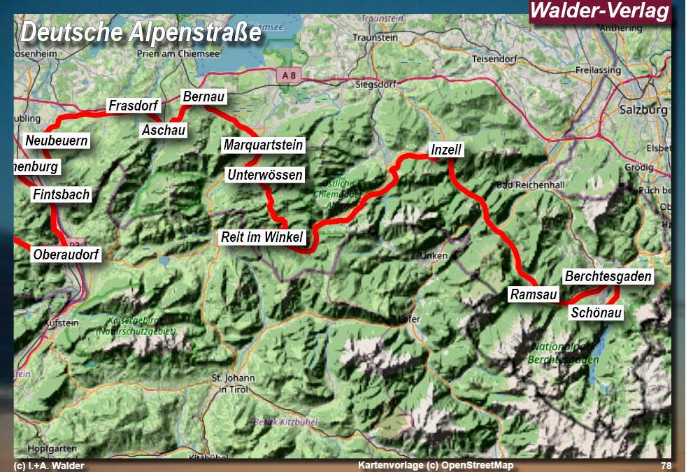 deutsche alpenstraße motorrad karte Deutsche Alpenstraße*** Motorradtour