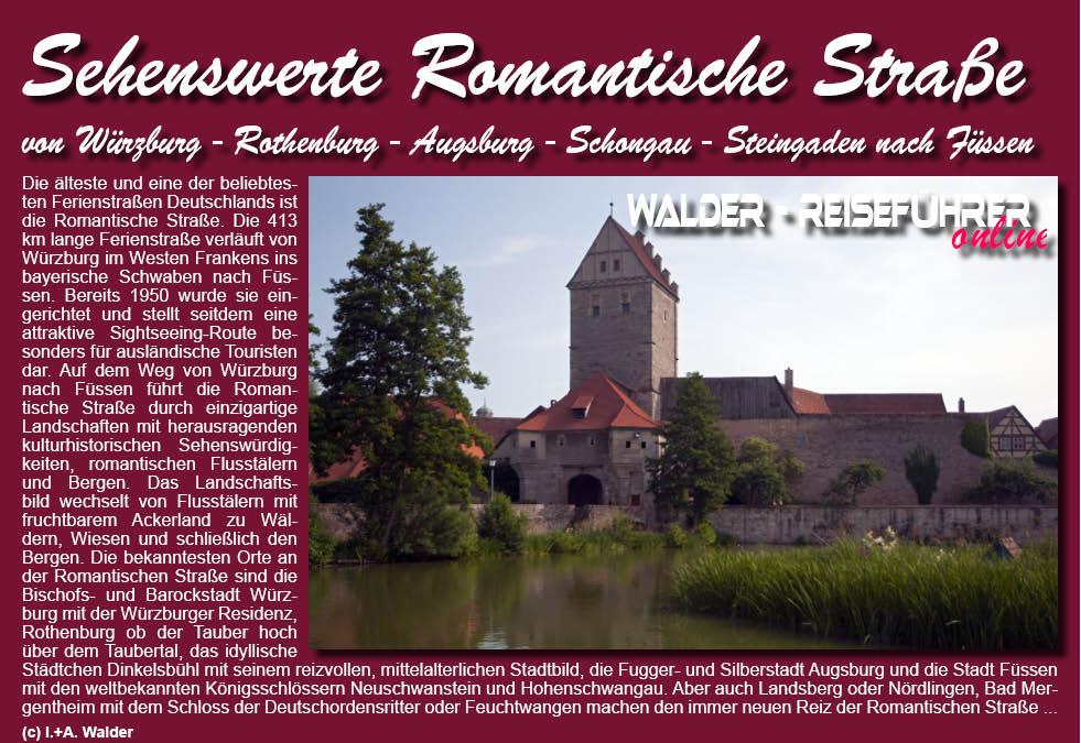 Romantische Strasse Reisefuhrer