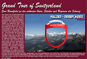 Reiseführer Grand Tour of Switzerland