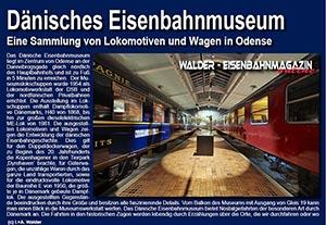 Dänisches EIsenbahnmuseum in Odense